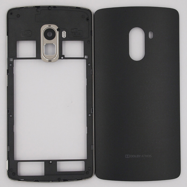 new arrival 80961 e688f US $8.95 9% OFF|BaanSam New Middle Frame Battery Door Back Cover Housing  Case For Lenovo K4 NOTE A7010 With Antenna+Camera Lens-in Phone Pouch from  ...