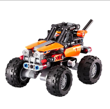 2016 X-Mountain ATV Mini-Lange Rover Vehicle Tool Car Building Bricks action Blocks as Kids Educational Gift for Birthday Gifts