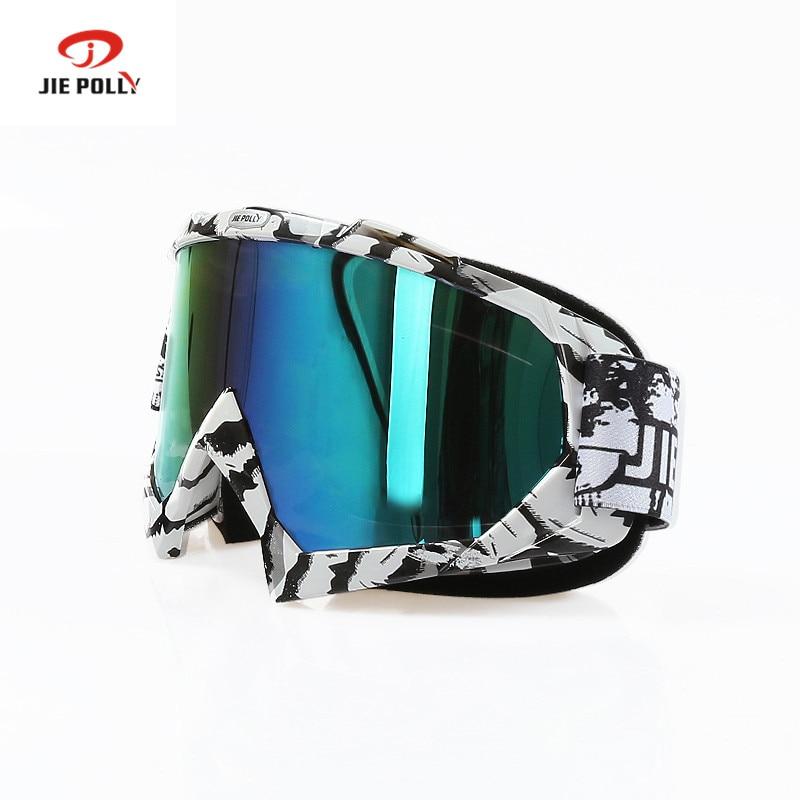 Prix pour Jiepolly Ski Ski Lunettes Femmes Hommes de Neige Ski googles Anit-brouillard Double Couche Moto VTT Dirt Bike Racing lunettes