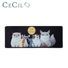 Cartoon Cute Cat Floor Mats Trend Fashion Mat Bedside Rug Bedroom Water Absorption Non-slip Door Anti-slip Footpad
