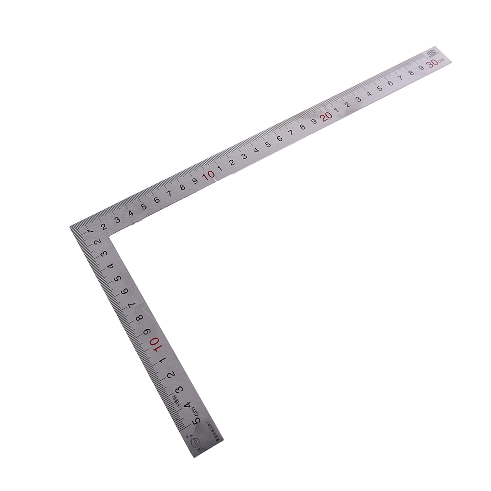 Metal Steel Right Angle Ruler Engineers Try Square Set Woodworking Wood Measuring Tool  90 Degrees Measurement Instruments