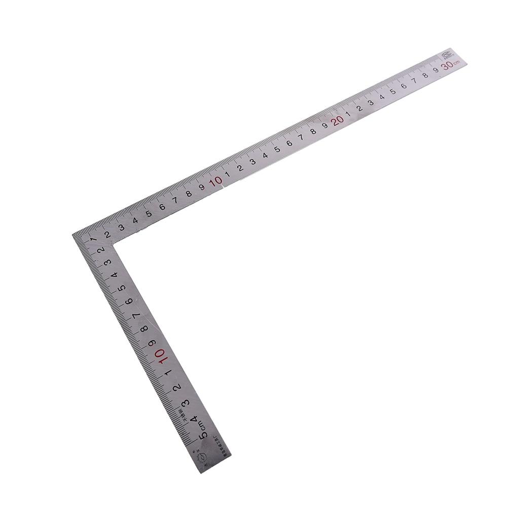 Металлический Стальной правый угол линейки инженеры попробуйте квадратный набор деревообрабатывающий деревянный измерительный инструме...