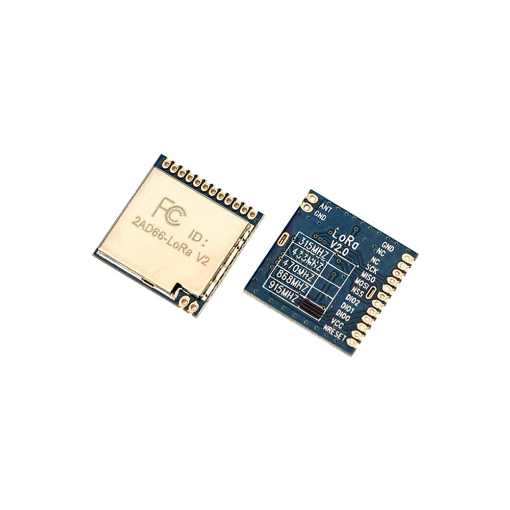 2pcs/lot FCC Certified 868MHz | 915MHz 100mW Sx1276 Chip Long Range 4Km RF Wireless LoRa Module LoRa1276