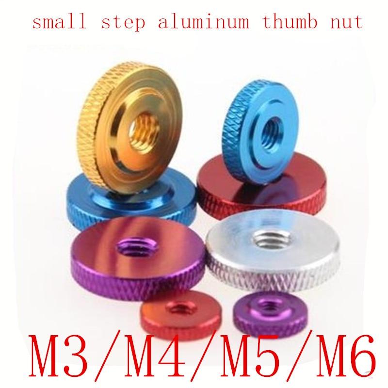 M6 Aluminum Nylon Flange Insert Lock Hex Nuts Purple//Gold//Black//Silver//Orange
