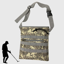 Digger's Pouch Camo Metal Detector Waist Bag for Metal Detecting and Treasure Hunting