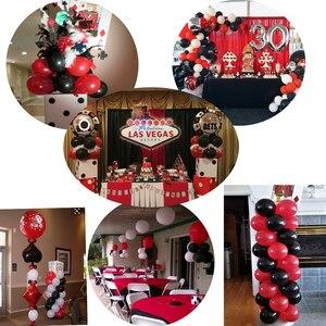 Image 3 - 87 Chiếc Vòng Bạc Cho Tiệc Tiếp Liệu Bộ Sòng Bạc Bóng Cao Su Xi Las Vegas Các Bữa Tiệc Theo Chủ Đề Trang Trí Tiệc Sinh Nhật Người Lớn