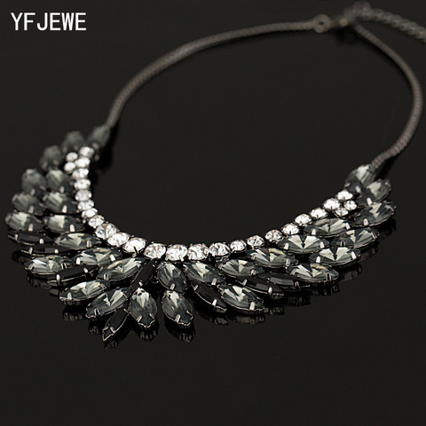 2018 New  Brand Luxury Crystal Necklaces & Pendants Eyes Resin Choker Statement Necklace Valentines Day Women Jewelry #N007 Pakistan