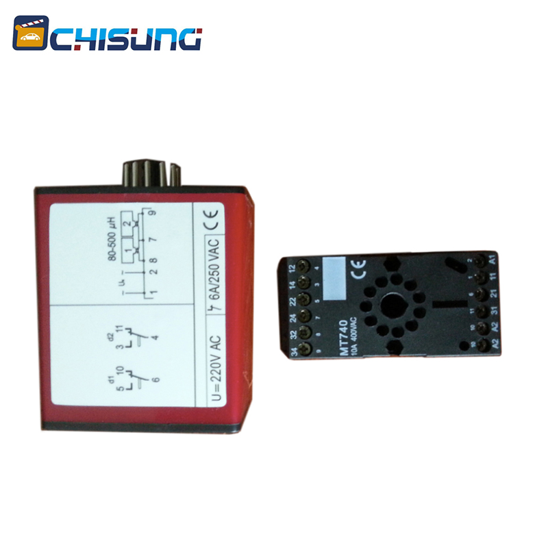 Automatic Car Park Barrier Gate Inductive Vehicle Loop Detector