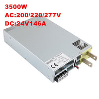 3500W 24V 145A DC 0 24v power supply 24V 145A AC DC High Power PSU 0 5V analog signal control SE 3500 24 Industrial grade