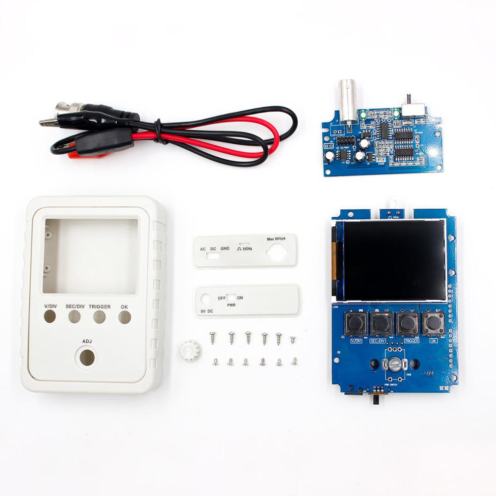 Fully Assembled DSO150 15001K DIY Digital Oscilloscope Kit With Housing case box
