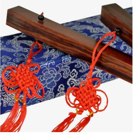 Distaff chinois (édition Collector en acajou), bâtonnets chinois, tour de magie, scène, Illusions, accessoire, Gimmick, mentalisme, amusement, jouets