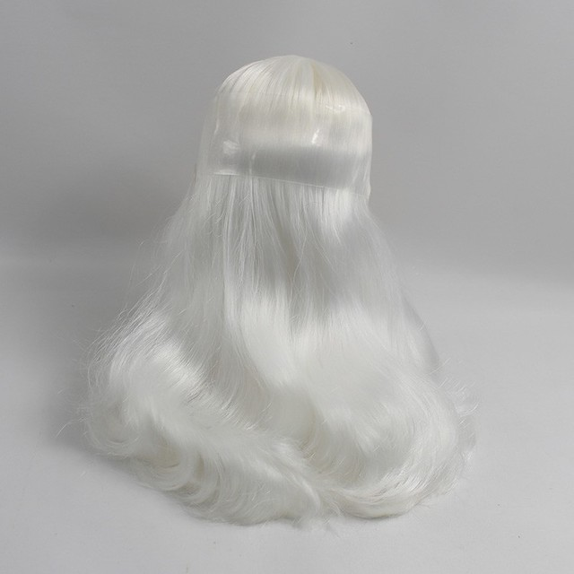 ICY Neo Blythe Doll White Center Part Wavy Hair Regular Body 30cm
