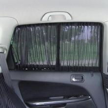2 шт. 70 см регулируемый автомобиль внедорожник окно анти-УФ Солнцезащитный козырек драпировка козырек занавеска балдахин