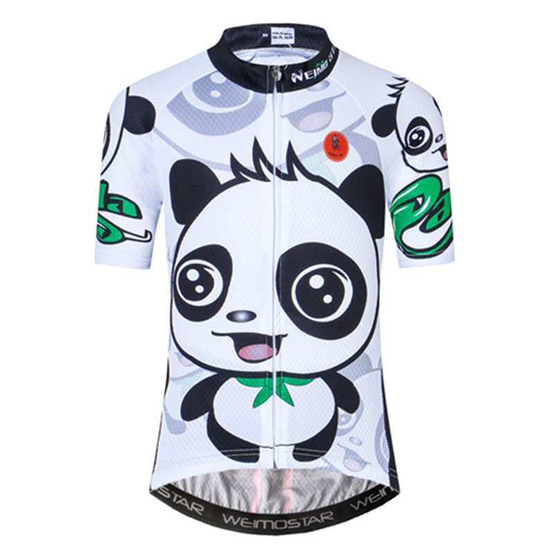 Bike Jersey Clothing Short-Sleeve Bicyle Children Summer Girls Breathable Tops Quick-Dry