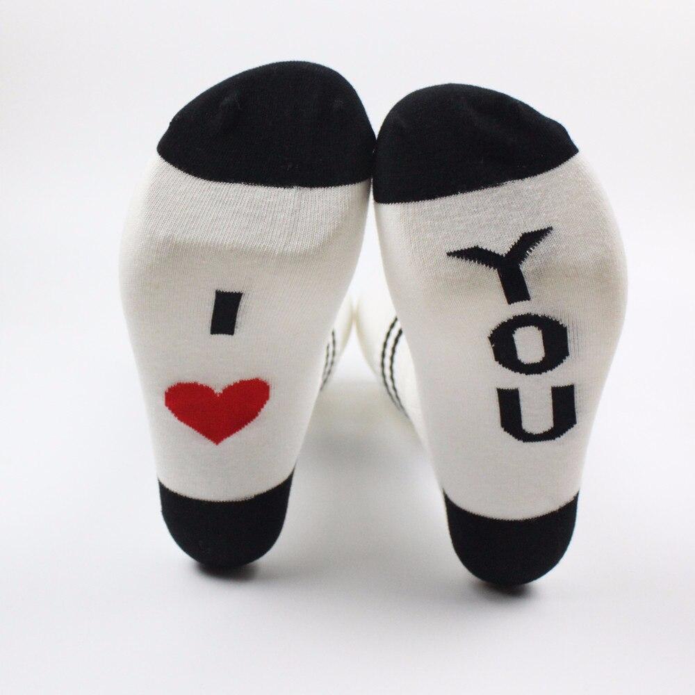NEW Love models men and women cotton socks short casual fashion wild couple