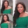Nova chegada africano tecidos rendas de alta qualidade cabo de rendas guipure tecido de renda para o vestido de festa Verde. Nigeriano rendas frisado tecido