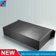 цена на YGH-002-3B 482*89*250mm 19'2U Aluminum instrument custom case with flat server cabinet