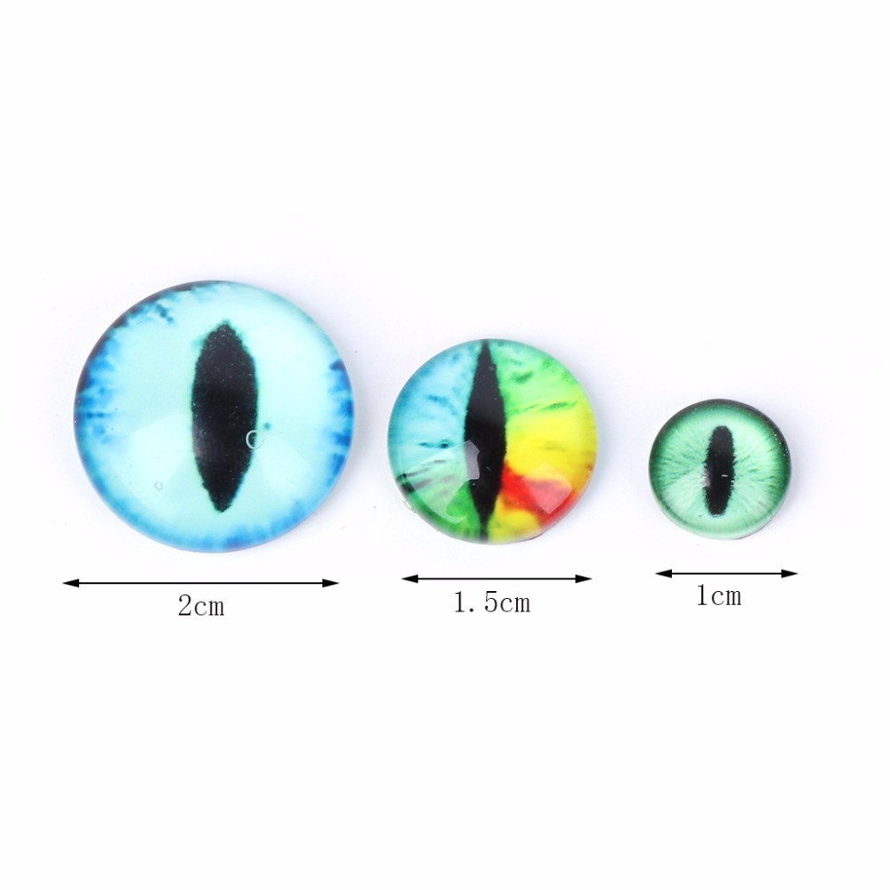 20Pcs Glass Doll Eye Making DIY Crafts For Toy Dinosaur Animal Eyes Accessories in Dolls Accessories from Toys Hobbies
