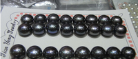 huij 00587 16pairs 10.5-11mm half drilled Freshwater Pearl