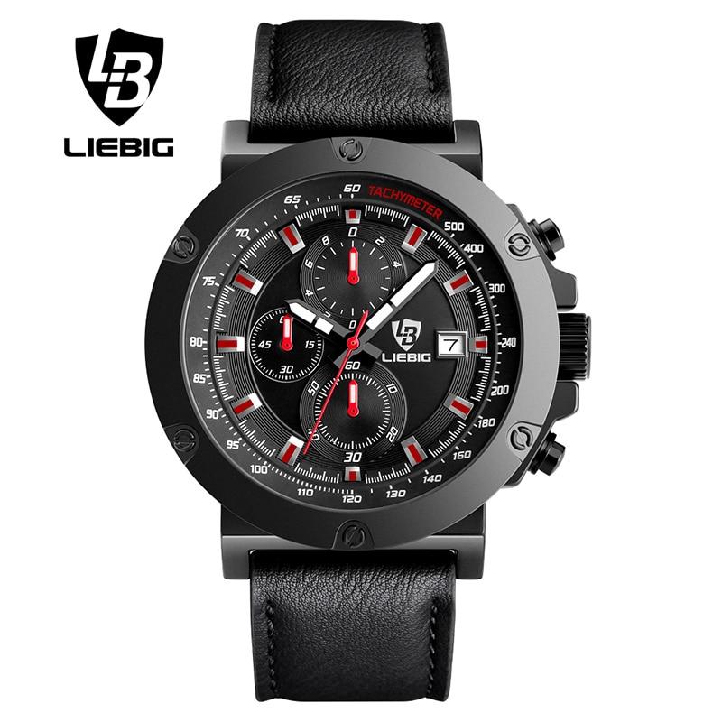 ФОТО LIEBIG Mens Quartz Watches Fashion Sport Male Watch Calendar Waterproof Clock Top Brand Luxury Relogio Masculino ZHG161018