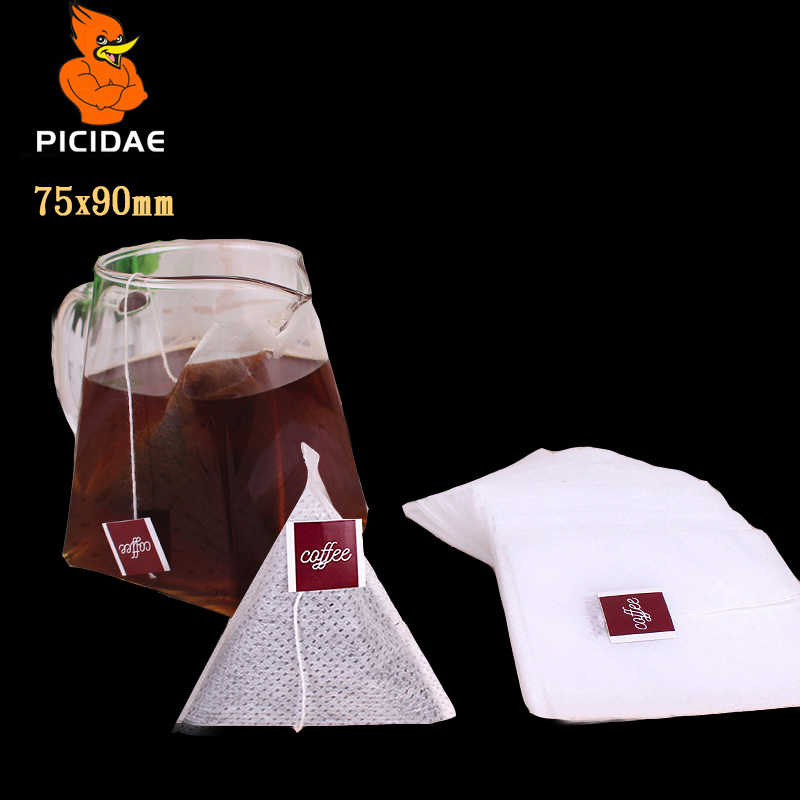 coffee filter paper bag One time Drip type Portable import Japan label Wire No leakage slag extraction Cold bubble Triangle pack
