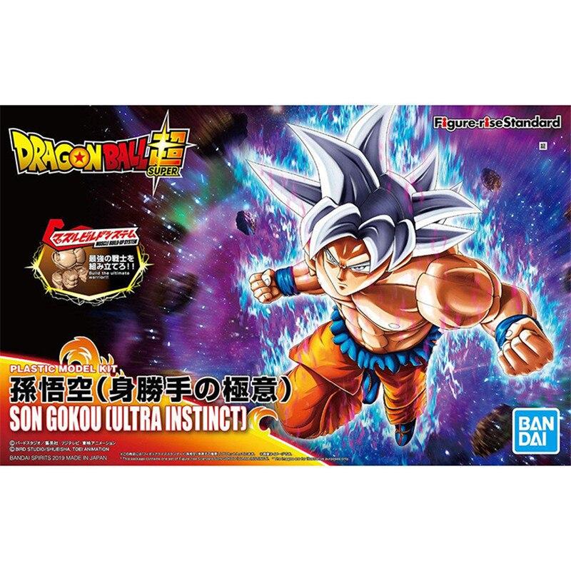 Figurine taille standard Dragon Ball Z Super Ultra Instinct Goku Migatte pas Gokui clé de l'égoïsme figurine assembler modèle Collection jouet