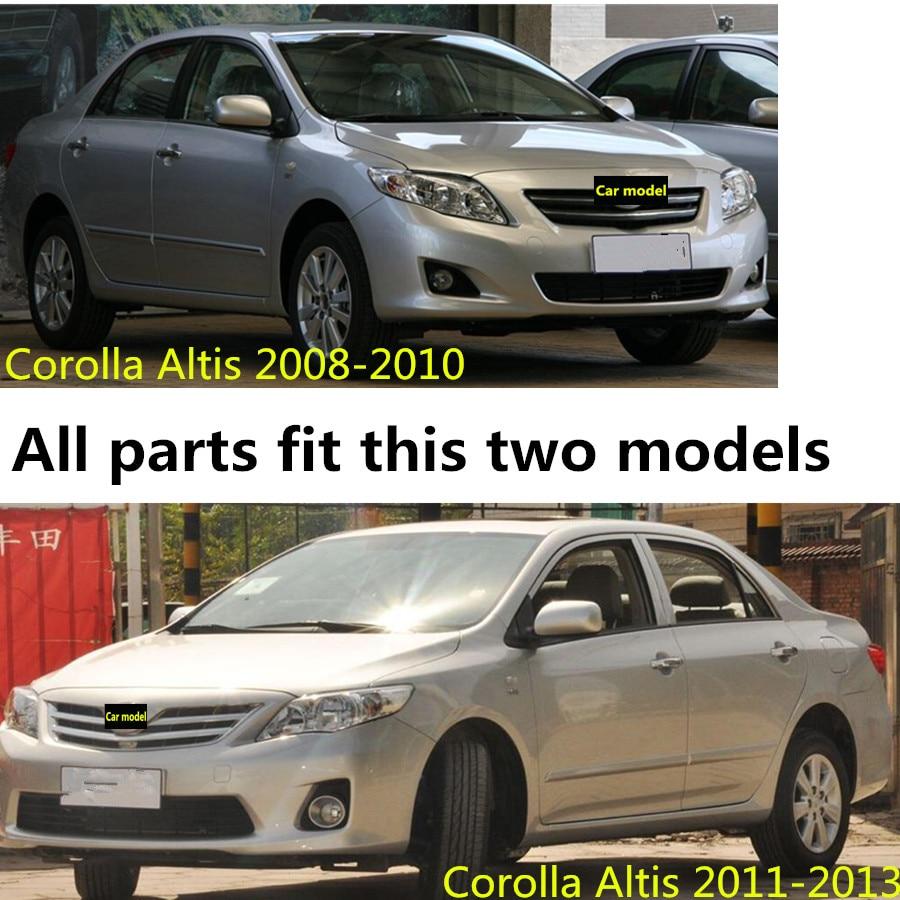 Для Toyota Altis Corolla 2008 2009 2010 2011 2012 2013 - Аксесуари для інтер'єру автомобілів - фото 5
