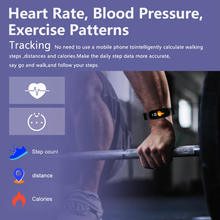 Smart Watch Men LED Waterproof Heart Rate