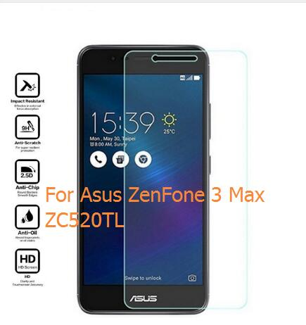 2Pcs Tempered <font><b>Glass</b></font> For <font><b>Asus</b></font> <font><b>ZenFone</b></font> 3 Max ZC520TL Screen Protector Safety Protective Film On <font><b>ZenFone</b></font> 3 Max ZC520 TL <font><b>X008D</b></font> 5.2