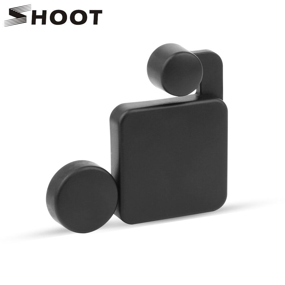 SHOOT Lens Cover Protector Cap + Waterproof Case Cover for SJCAM SJ4000 SJ5000 SJ9000 Wifi SJ4000 Plus Action Camera Accessory