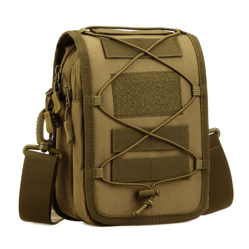 Multi-purpose Shoulder bag Nylon Camo MOLLE Tactical Affiliated Outdoor Sports Multifunction Hanging bag Military Messenger Bag