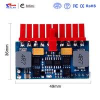 Realan LR1109 תקע מיני 120 W 12 V אספקת חשמל DC סוג מודול עבור מחשב מיני משלוח חינם