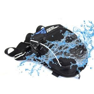 Image 4 - Mannen Waterdichte Oxford Taille Drop Been Zak Dij Heup Bum Riemfanny Toevallige Schoudertas Motorfiets Rit Outdoor Running sport