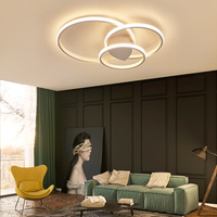 Bedroom Living room Ceiling Lights Modern LED lampe plafond avize Modern LED Ceiling Lights lamp with remote control