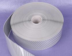 5CM*100M PES Reflective Thermal Transfer Film Hot Horned On The Clothing