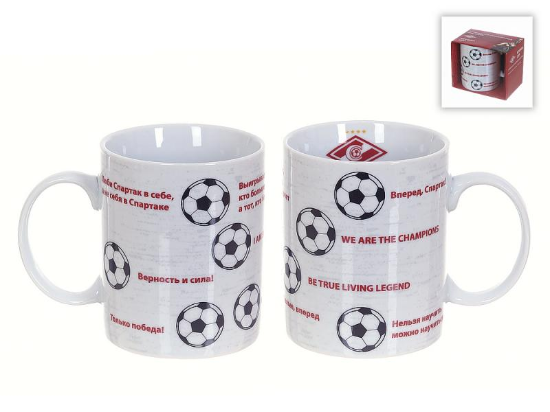 Tasse Polystar Collection, FC Spartak moscou, 330 ml, balle