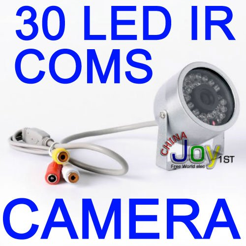 Wholesale 30 LED IR Day Night CMOS Color Video CCTV Surveillance CameraWholesale 30 LED IR Day Night CMOS Color Video CCTV Surveillance Camera