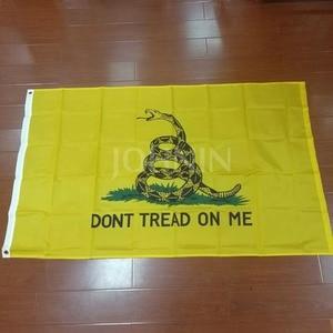 Johlin 90*150 см liberty или death black dont Take on me Tea Party погремушка Змеиный Гадсден флаг