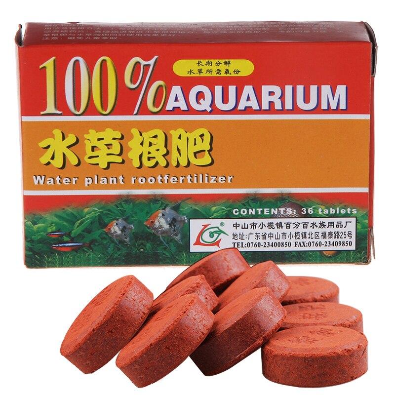 Aquarium Root Fertilizer Tablets 12/36Tab Fish Tank Aquatic Live Grass Cylinder Water Plant Waterweed Feeder Growth Food