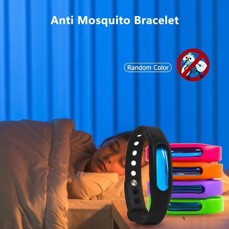 Image 2 - Mosquito Killer Anti Mosquito Bracelet Button Insect Repellent Wristband Summer Outdoor Indoor Mosquito Repellent Insect Killer-in Smart Accessories from Consumer Electronics