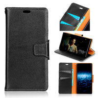 Real Leather Wallet Phone Case For Samsung Galaxy A3 A5 2017 Back Cover Case Flip Bag