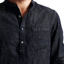Single Breasted Casual Long Sleeve Denim Shirt