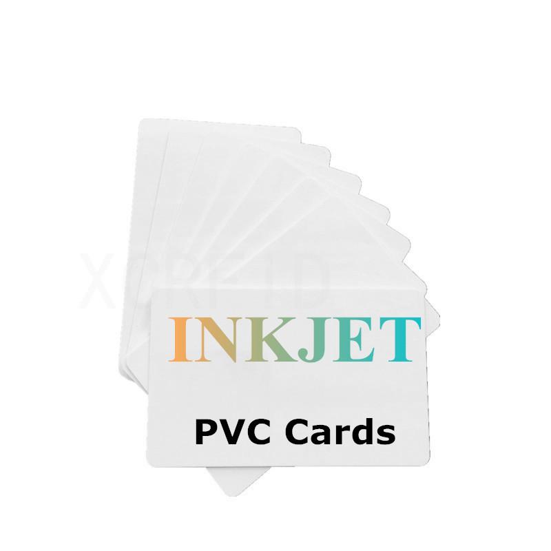 Printable ISO Blank Inkjet PVC ID Card For Canon IP7240 IP7250 IP7260 MG7510 For Epson Printer P50 A50 T50 T60 R390 L800