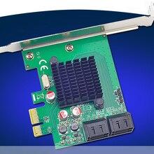 4 Порты внутренний SATA3.0 6 ГБ/сек. карта расширения PCI-E 88SE9215 Чипсет для Marvell