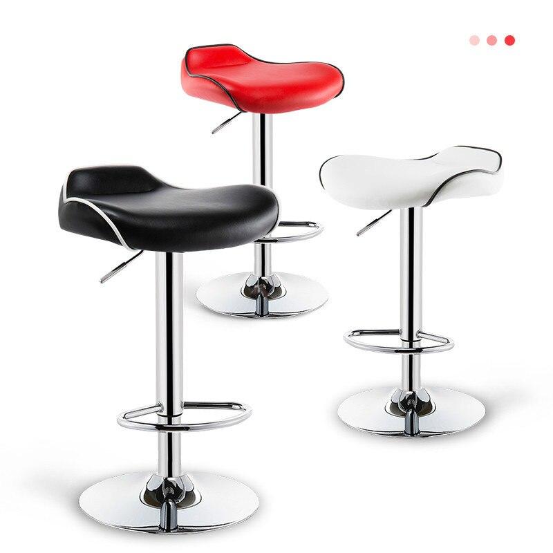 Tabouret de Bar maison tabouret haut ascenseur chaise de Bar moderne minimaliste tabouret haut chaise de caisse Table de Bar et chaise Design de châssis augmenté