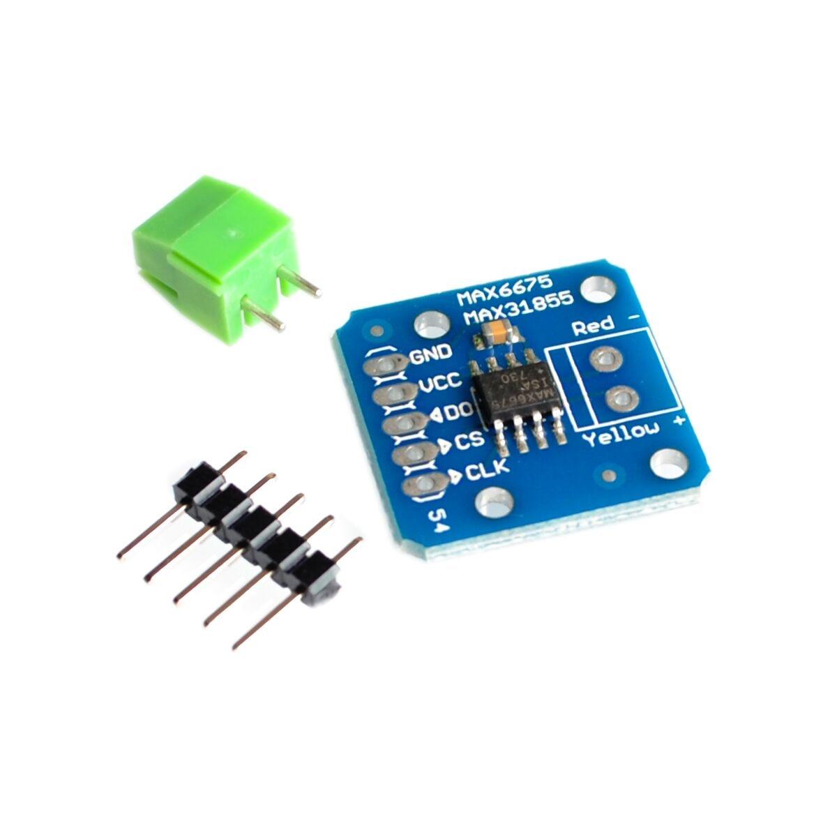 MAX31855 MAX6675 Module K Type Thermocouple temp Sensor new Temperature measurement moduleMAX31855 MAX6675 Module K Type Thermocouple temp Sensor new Temperature measurement module