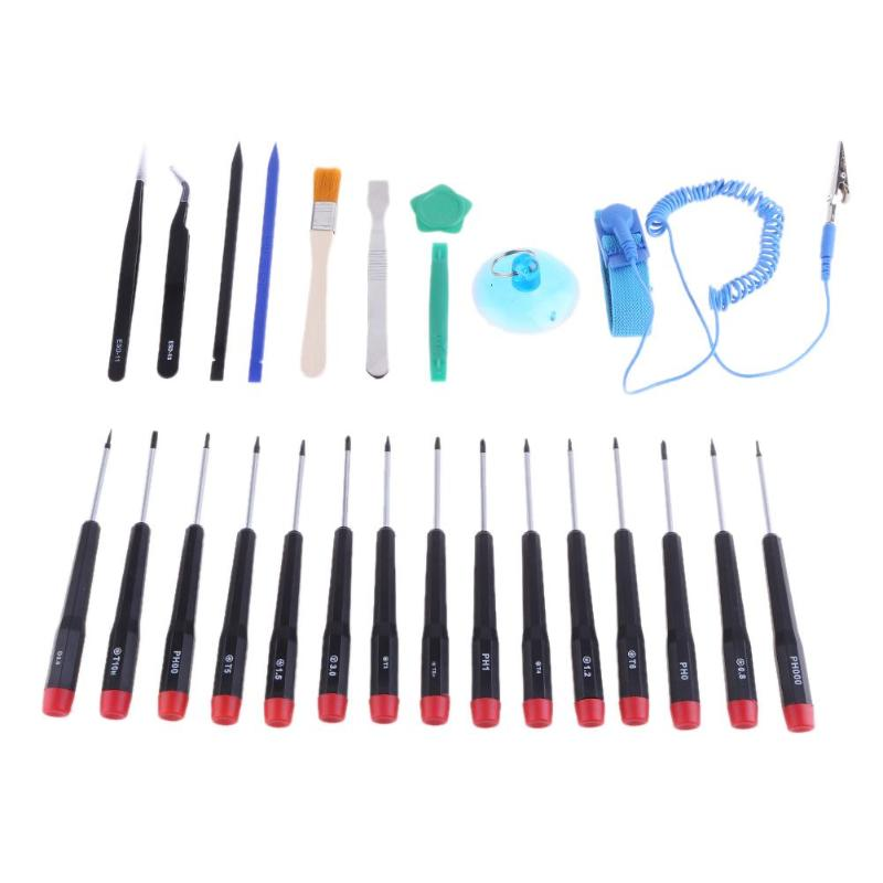 26 in 1 Precision Magnetic Screwdriver Set Disassembly Repair Fix Tools Kit for Cell Phone/Tablet Computer/Computer Maintenance ...