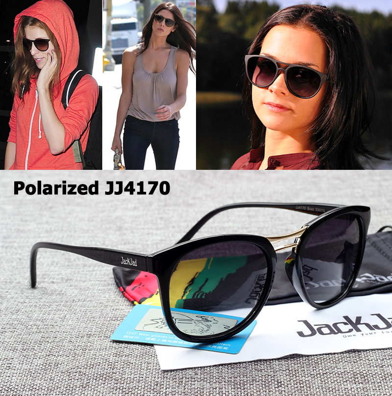 c25d3c722629 Best buy JackJad Fashion Women JJ4170 Brad Polarized Gradient Sunglasses  New Brand Design Oval Style Sun Glasses Oculos De Sol Feminino online cheap