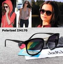 JackJad Fashion Women JJ4170 Brad Polarized Gradient Sunglasses New Brand Design Oval Style Sun Glasses Oculos De Sol Feminino