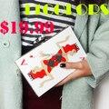 11 colores 2016 nueva Poker estilo mujeres del diseño de bolso de embrague noche bolsa de acrílico de la personalidad ocasional monedero monedero moda